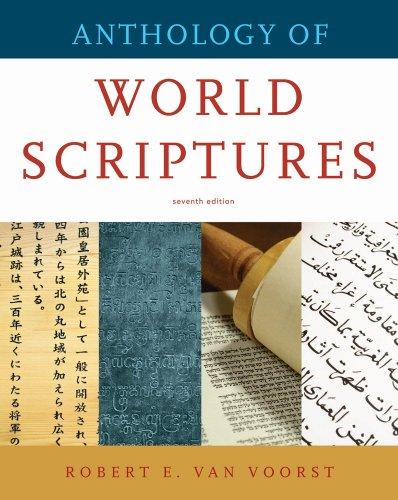 Anthology of World Scriptures 9780495808794