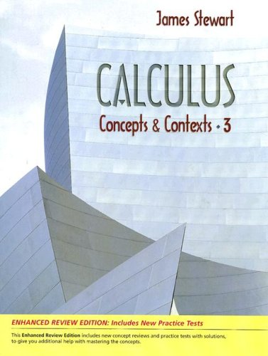 Calculus Enhanced Review Edition: Concepts and Contexts 9780495393368