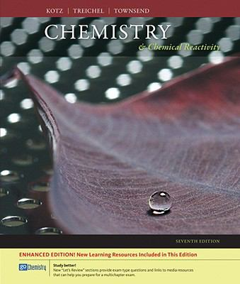 Chemistry and Chemical Reactivity 9780495390299