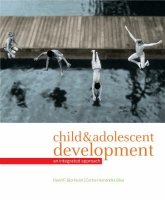 Child & Adolescent Development: An Integrated Approach 9780495897408