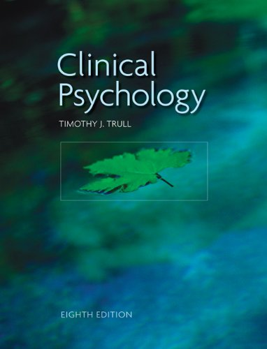 Clinical Psychology 9780495508229