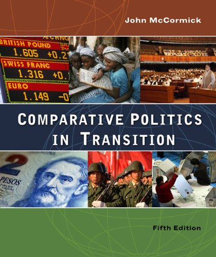 Comparative Politics in Transition 9780495007609