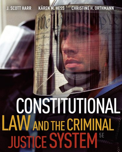 Constitutional Law and the Criminal Justice System 9780495811268