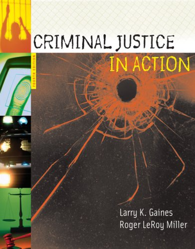 Criminal Justice in Action 9780495186861