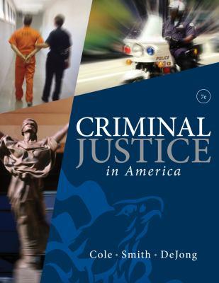 Criminal Justice in America 9780495809821