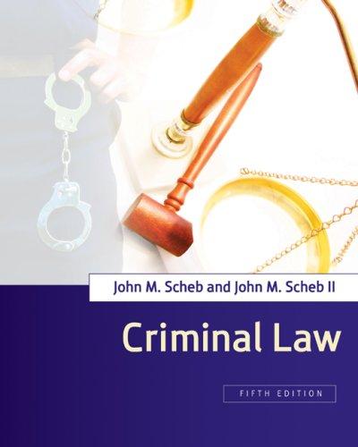 Criminal Law 9780495504801