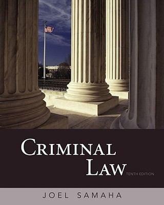 Criminal Law - 10th Edition