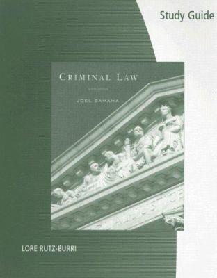 Criminal Law 9780495384014
