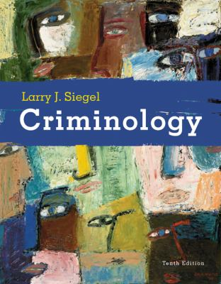 Criminology 9780495391029