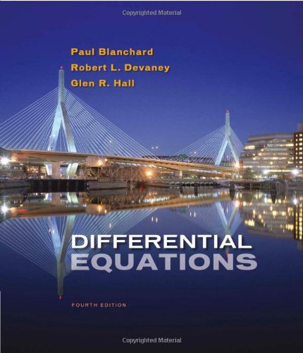 Differential Equations 9780495561989
