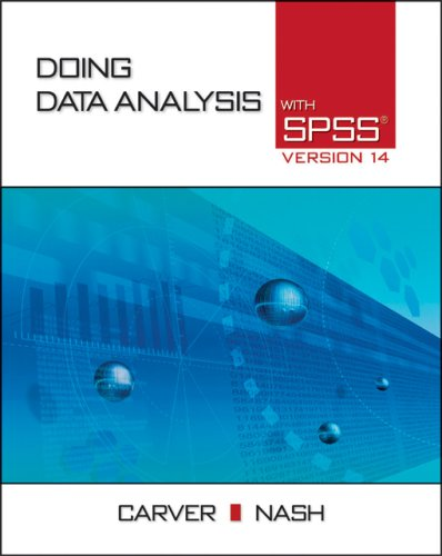 Doing Data Analysis with SPSS: Version 14 [With CDROM] 9780495107934