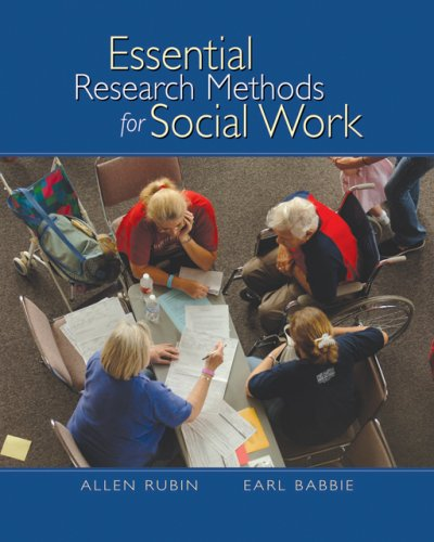 Essential Research Methods for Social Work 9780495006589
