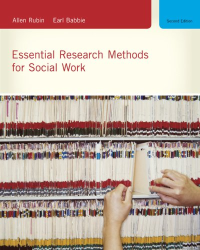 Essential Research Methods for Social Work 9780495604372
