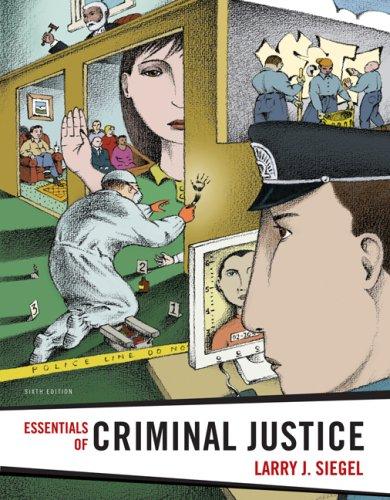 Essentials of Criminal Justice 9780495833666