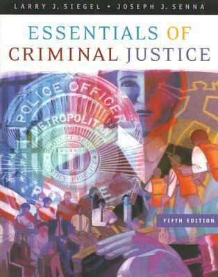 Essentials of Criminal Justice 9780495006022
