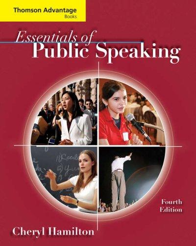 Essentials of Public Speaking 9780495504245