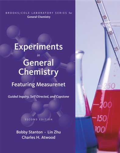 Experiments in general chemistry featuring measurenet 2nd edition
