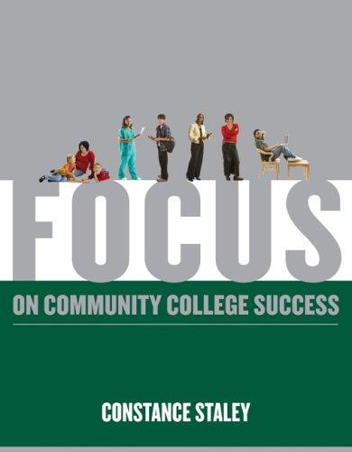 Focus on Community College Success 9780495569558