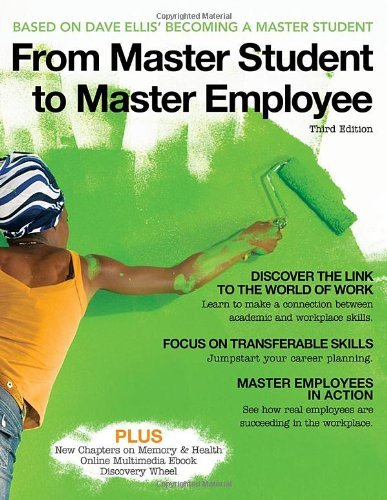 From Master Student to Master Employee 9780495913047