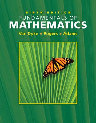 Fundamentals of Mathematics [With CDROMWith Infotract] 9780495012535