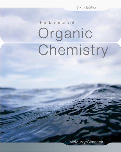 Fundamentals of Organic Chemistry 9780495012030