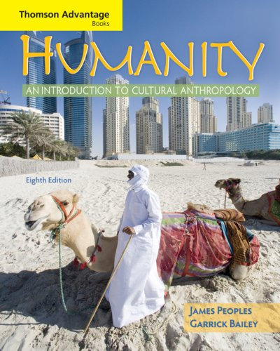 Humanity: An Introduction to Cultural Anthropology 9780495508748