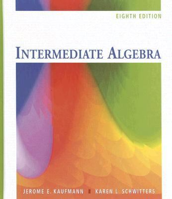 Intermediate Algebra 9780495109938