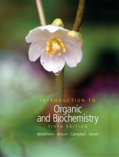 Introduction to Organic and Biochemistry [With CDROM] 9780495014775