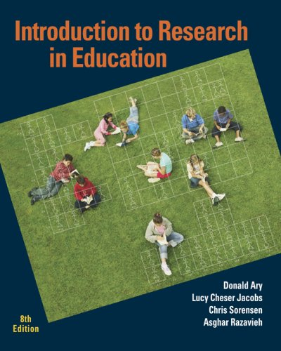 Introduction to Research in Education 9780495601227