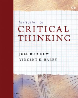 Invitation to Critical Thinking 9780495103714