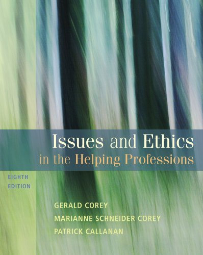 Issues and Ethics in the Helping Professions 9780495812418