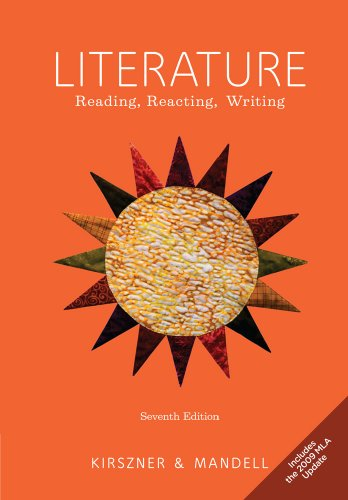 Literature: Reading, Reacting, Writing 9780495904540