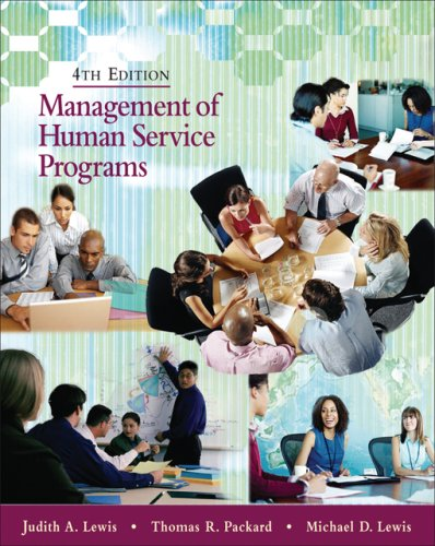 Management of Human Service Programs 9780495007821