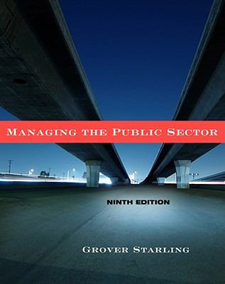 Managing the Public Sector 9780495833192