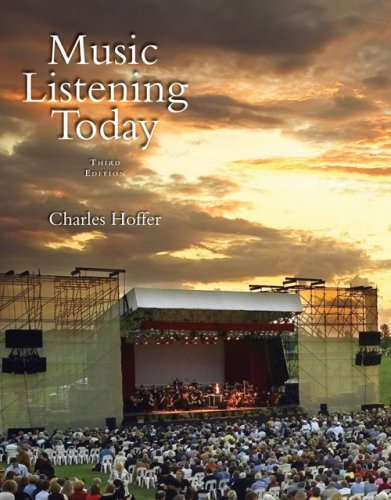 Music Listening Today [With CD] 9780495090762