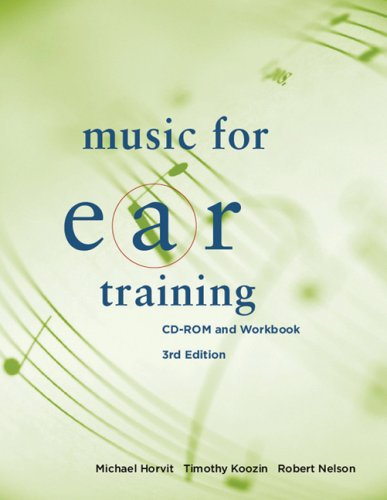Music for Ear Training [With CDROM] 9780495565710