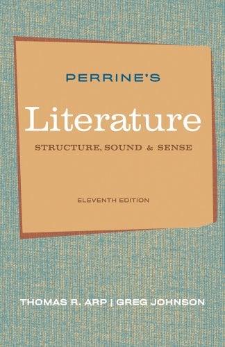 Perrine's Literature: Structure, Sound, and Sense 9780495897965
