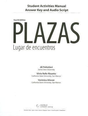 Plazas: Lugar de Encuentros: Student Activities Manual 9780495916826