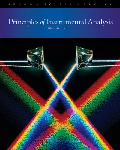 Principles of Instrumental Analysis 9780495012016