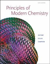 Principles of Modern Chemistry: Student Solutions Manual
