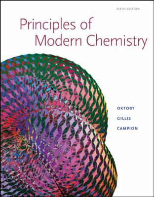 Principles of Modern Chemistry: Student Solutions Manual 9780495112266