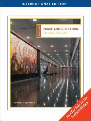 Public Administration 9780495797425