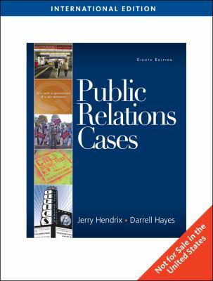 Public Relations Cases 9780495567820