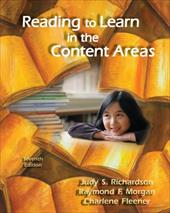 Reading to Learn in the Content Areas 1609673