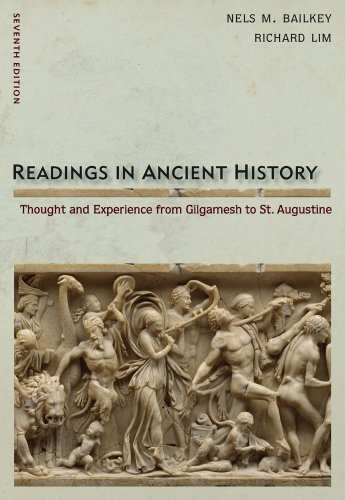 Readings in Ancient History: Thought and Experience from Gilgamesh to St. Augustine 9780495913030