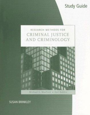 Research Methods for Criminal Justice and Criminology 9780495099284