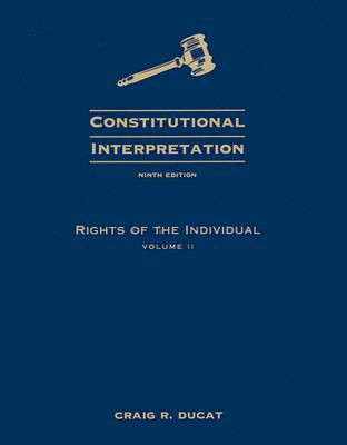 Rights of the Individual 9780495503248