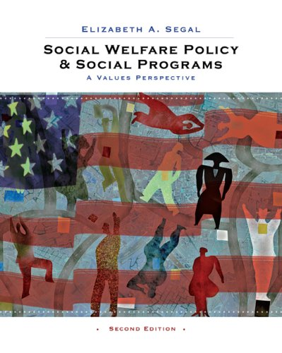 Social Welfare Policy and Social Programs: A Values Perspective 9780495604198