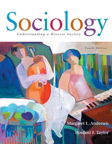 Sociology: Understanding a Diverse Society [With Infotrac] 9780495004905
