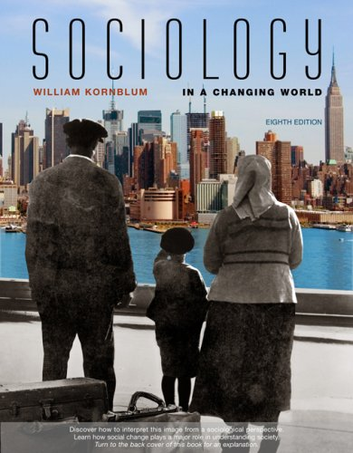 Sociology in a Changing World 9780495096351